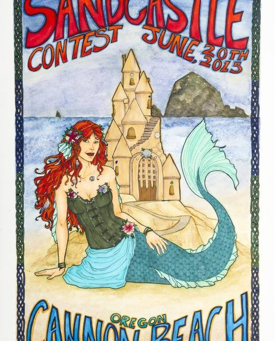 Sandcastle Contest Cannon Beach 2015