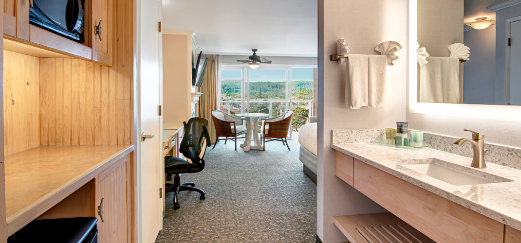 Oceanview Rooms