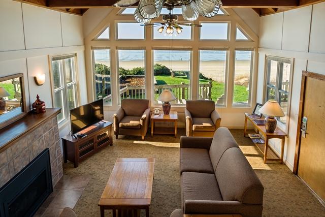 Beach House 380 living room