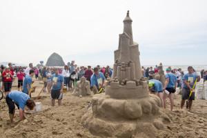Cannon Beach Sandcastle