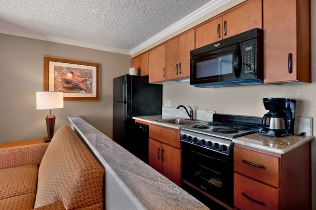 Cannon Beach 1 bedroom kitchen