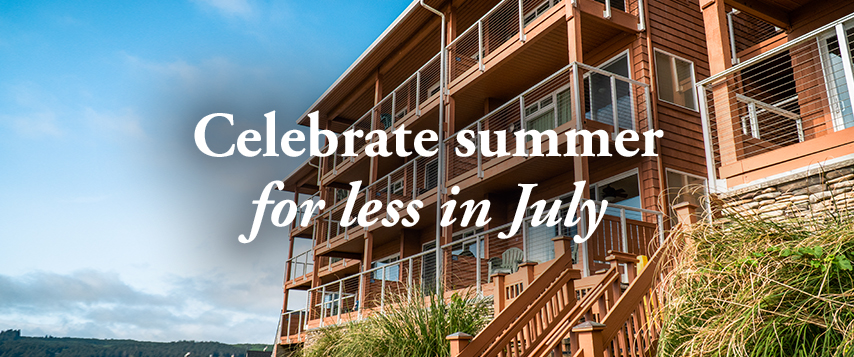 Celebrate summer for less in July