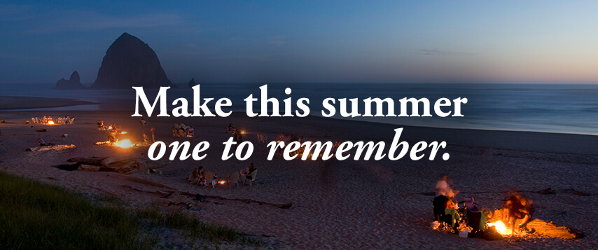 Make this summer on to remember.