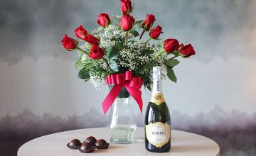 Champagne, Roses, Truffles image