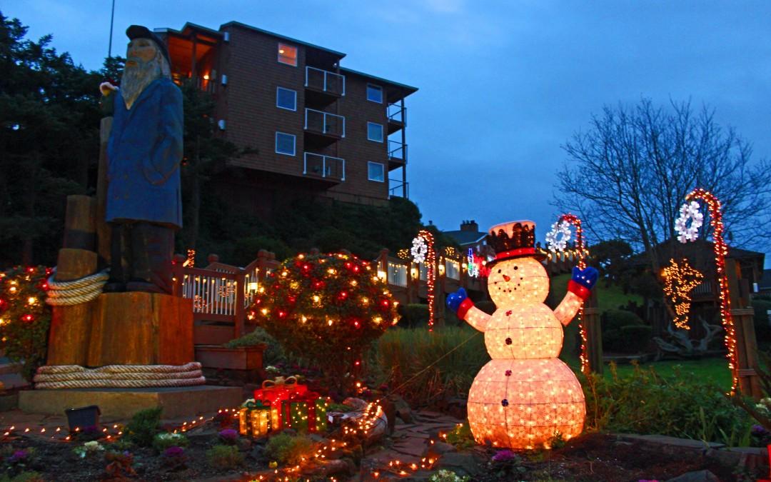 Christmas in Cannon Beach
