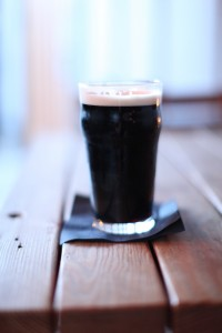 Shakespeare Oatmeal Stout at Georgie's Beachside Grill