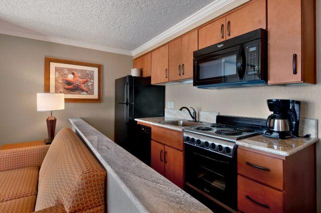NW view 2 bedroom kitchen