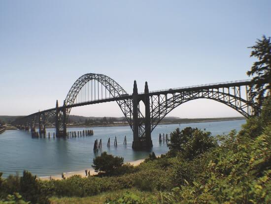 Newport Oregon Bay Bridge