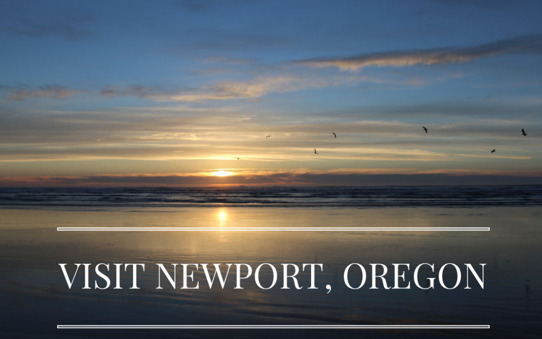 Newport, Oregon in March