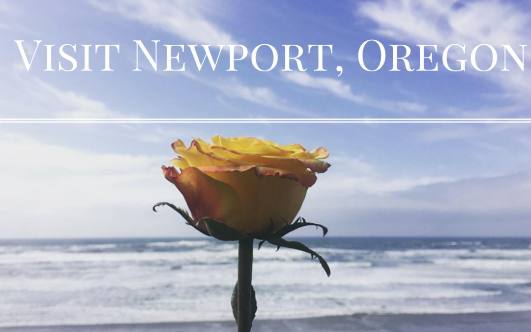 Newport, Oregon in April