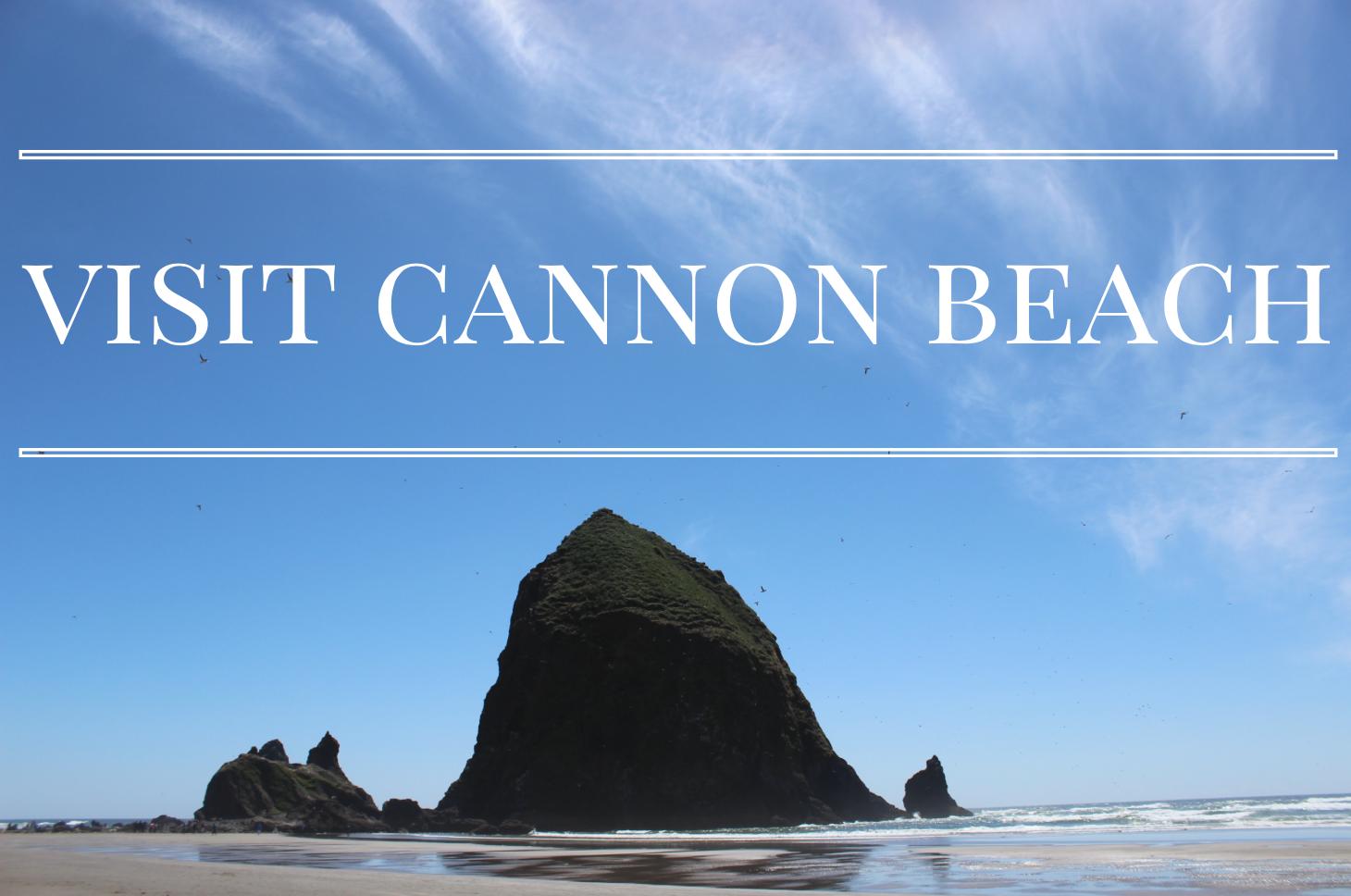Cannon Beach In June