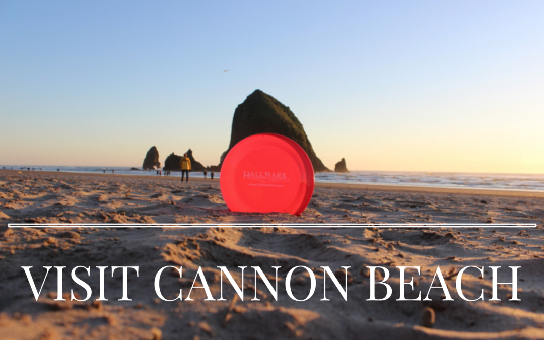 Cannon Beach in July