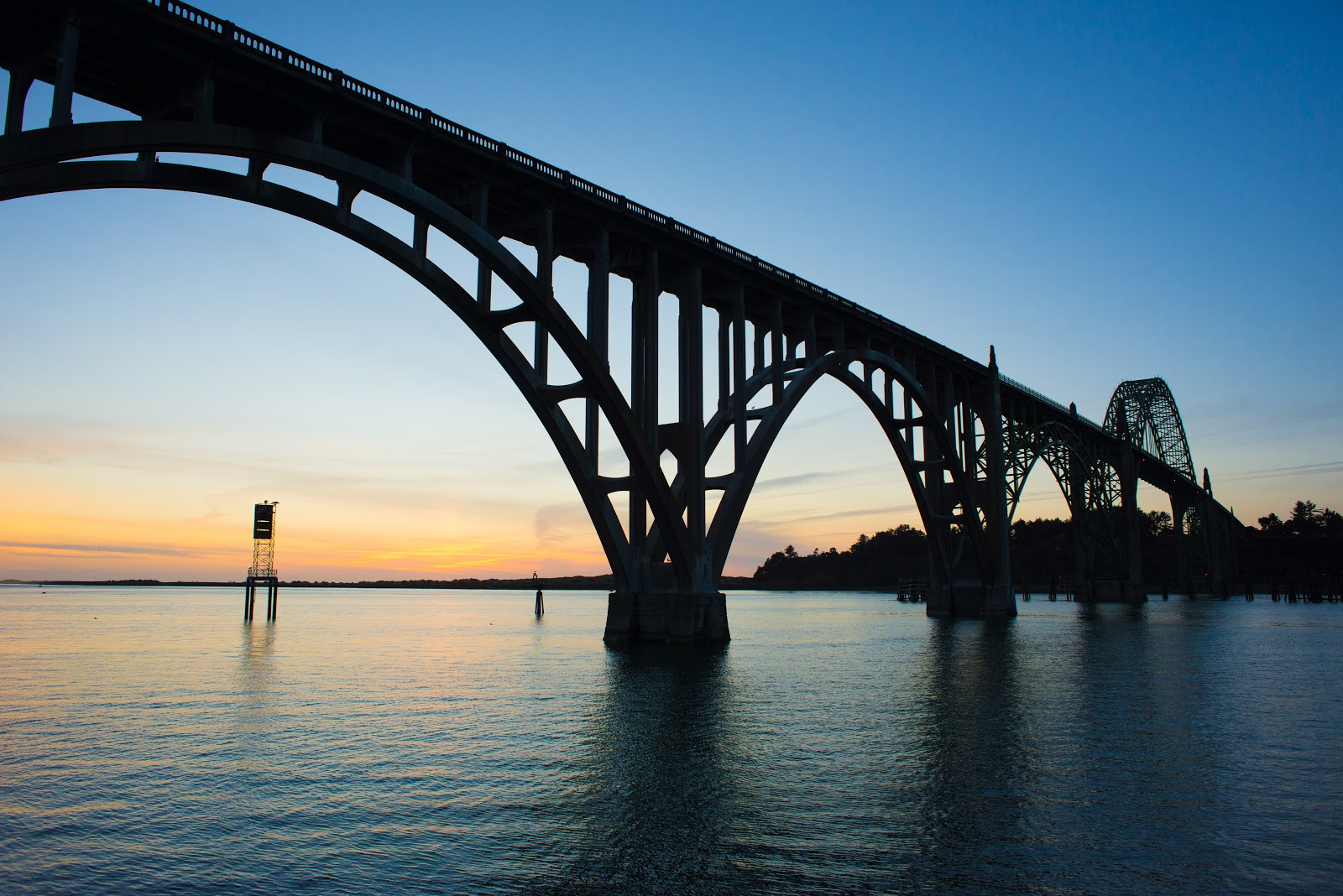 Newport's historic Yaquina Bay Bridge