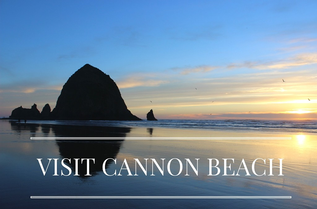 Cannon Beach in March