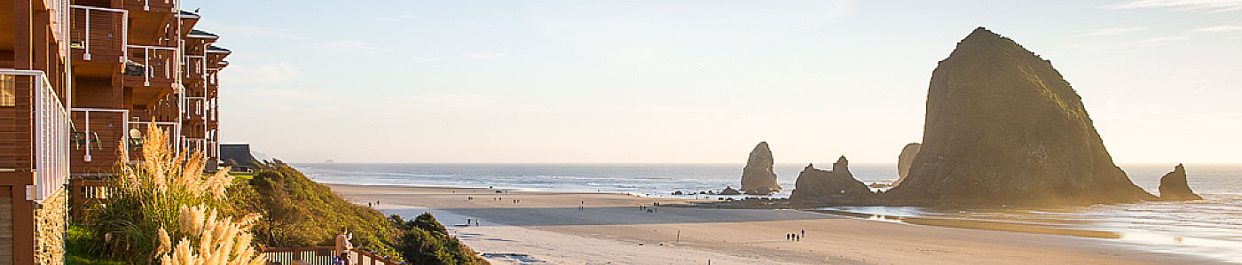Hallmark Inns Cannon Beach and Haystack Rock