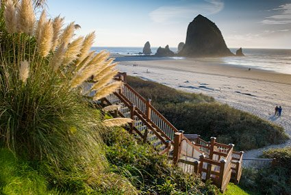 view of Haystack Rock