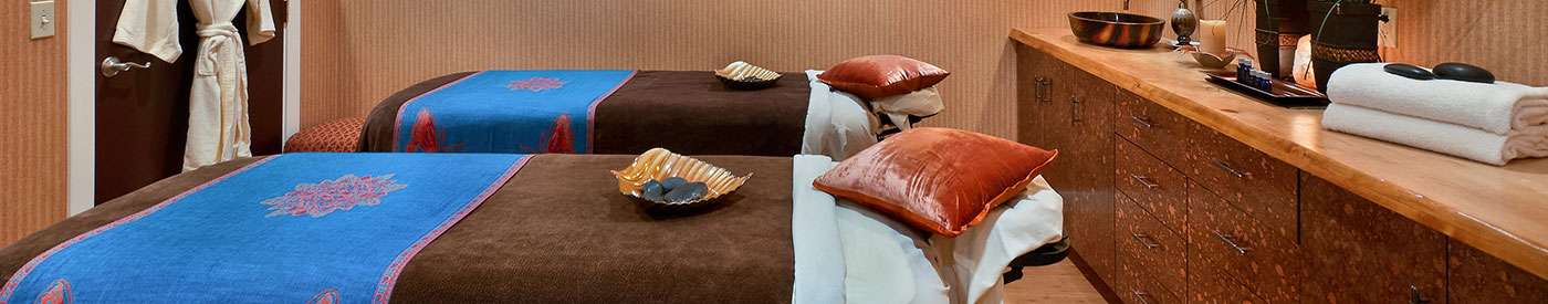 Massage area at Elements by the Sea Spa in Cannon Beach, OR
