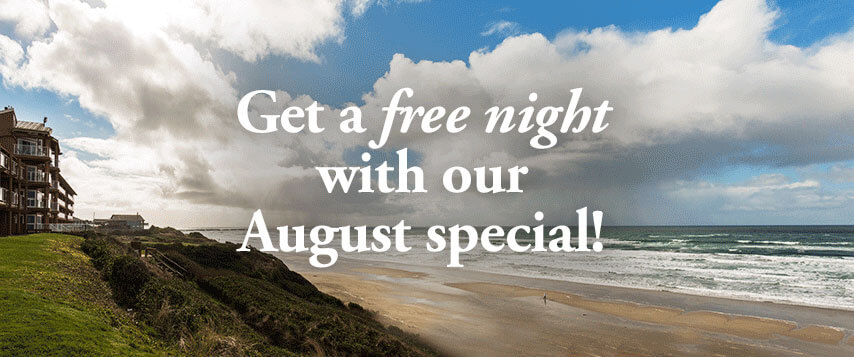 Get a free night with our August special