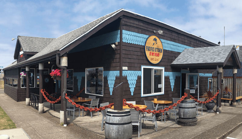 Pacific Kitchen at Nye Beach exterior