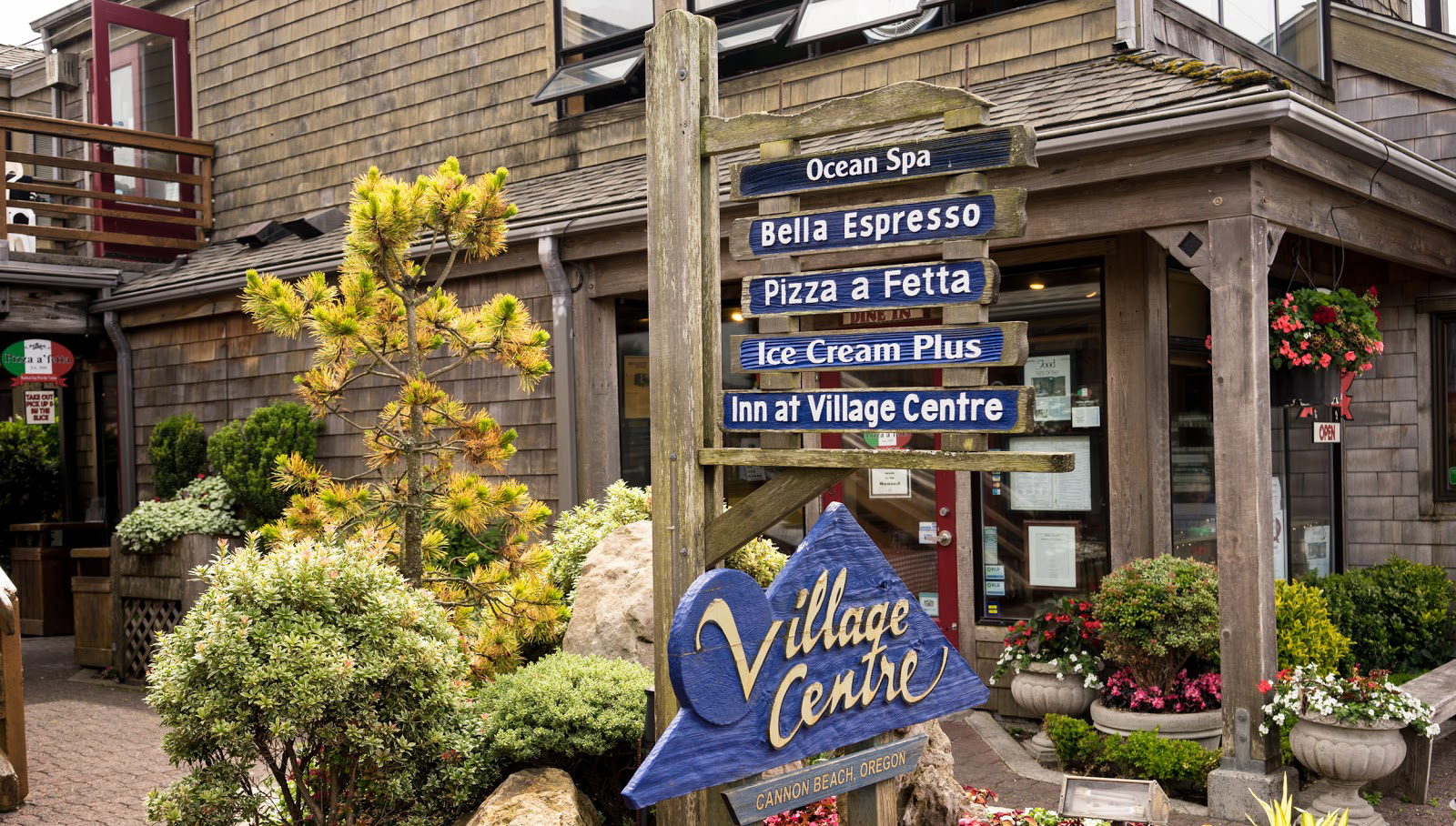 Something for everyone at Cannon Beach's Village Centre